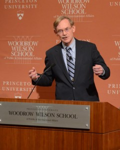 Robert Zoellick, photo courtesy of The Daily Princetonian.