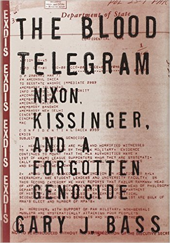The blood telegram book