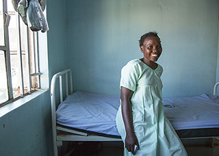 Topister, 27, suffered from obstetric fistula for 14 years before receiving a free corrective surgery.