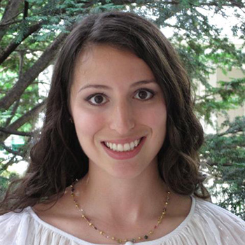 Rebecca Perlman, assistant professor of politics and international affairs. (Photo courtesy of Perlman)
