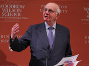 Paul Volcker '49 - former chairman, Federal Reserve