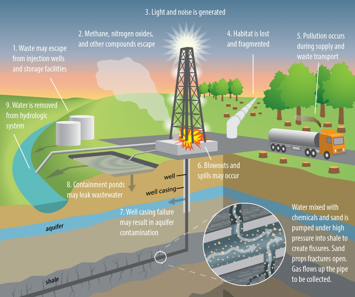 gasoline impact on environment Oil and gas drilling can the devastating cumulative effects of numerous small spills on land present long-term environmental impacts and chronic health.