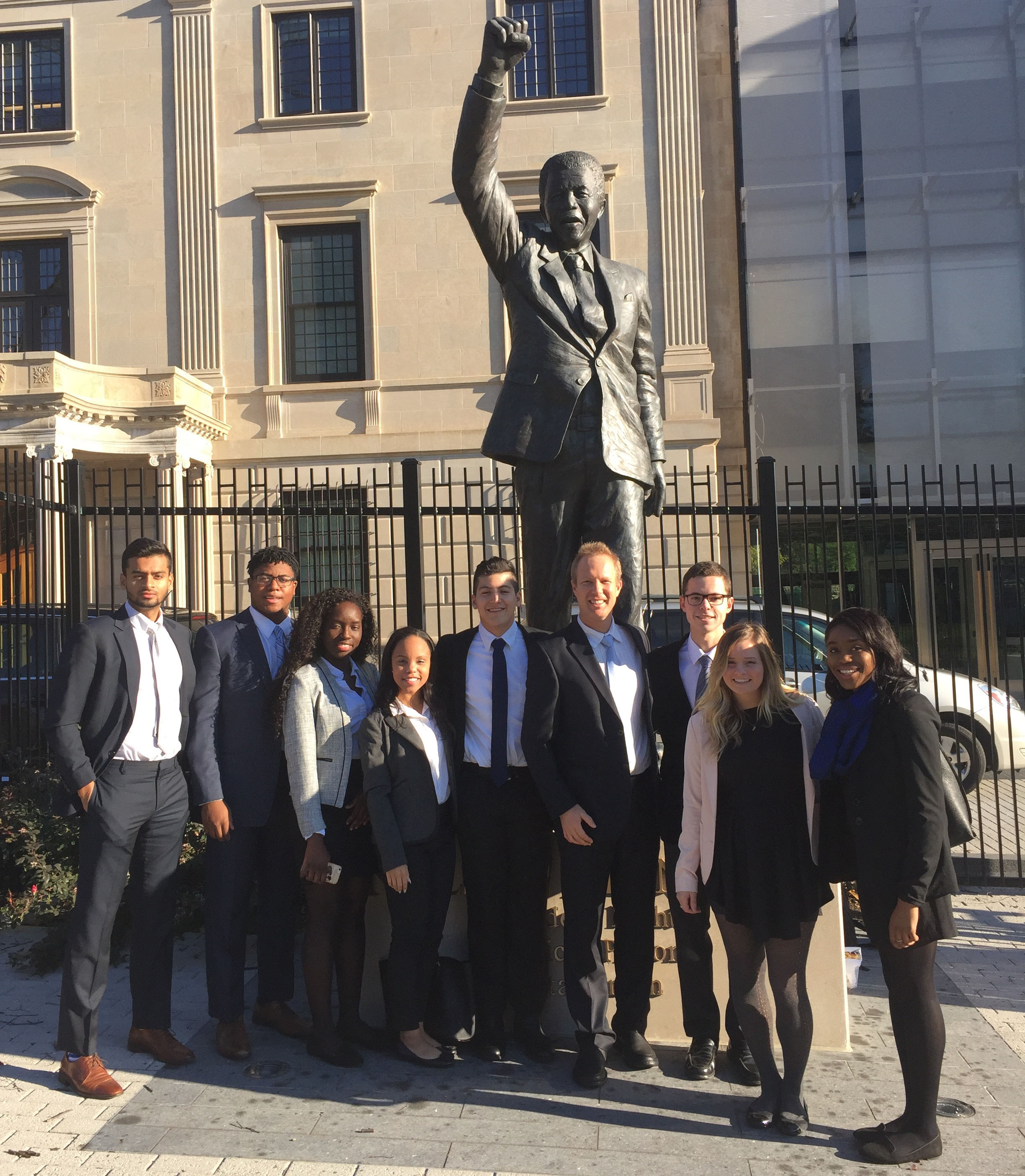 Undergraduate Policy Task Force at South African Embassy in Washington, D.C.
