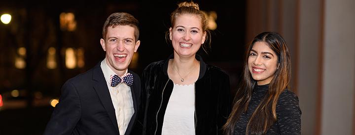 SINSI cohorts Newby Parton, Caroline Jones and Dina Chotrani