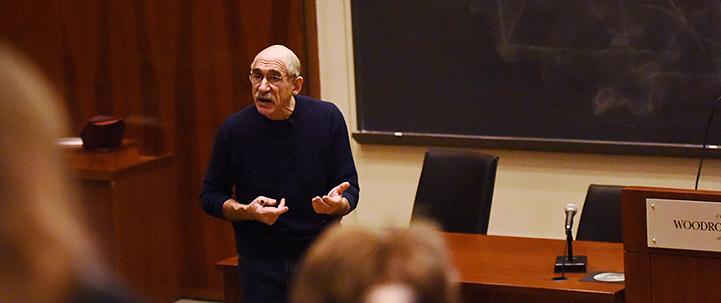 Professor Oppenheimer teaching
